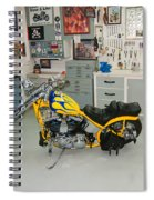 One Chopper Coming Up Spiral Notebook