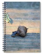 One Less Nut Spiral Notebook