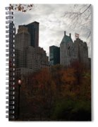 One Light On In Central Park Spiral Notebook