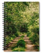 One Lonely Path Spiral Notebook