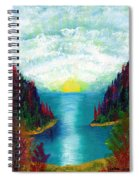 One More Sunset Spiral Notebook