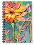 One Pink Flower Spiral Notebook