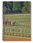 One Place To Be Spiral Notebook