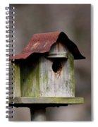 One Room Shack - Bird House Spiral Notebook