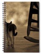 One Saturday Afternoon Spiral Notebook