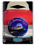 One Summer Night Spiral Notebook