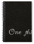 One Thin Dime Spiral Notebook