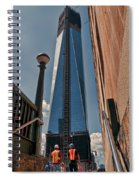 One Wtc First Look Spiral Notebook