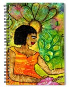Open Arms Spiral Notebook
