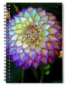 Open For Pleasure Flowart Spiral Notebook
