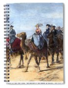 Opening Of The Suez Canal Spiral Notebook