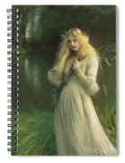 Ophelia Spiral Notebook