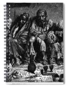 Opium Addicts, 1868 Spiral Notebook
