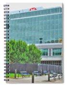 Opposing Trees Of Season Spiral Notebook