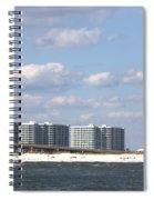 Orange Beach Spiral Notebook