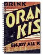 Orange Kist Spiral Notebook
