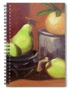 Orange Pears Spiral Notebook