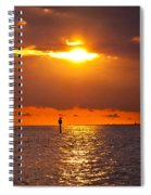 Orange Sky Spiral Notebook