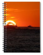 Orange Sunset IIi Spiral Notebook