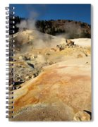 Orange Thermal Crust Spiral Notebook