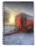 Orange Trailer Spiral Notebook