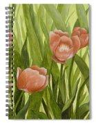 Orange Tulips Spiral Notebook