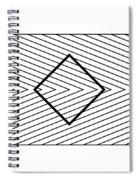 Orbison Illusion  Spiral Notebook