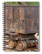 Ore Car Trian Spiral Notebook
