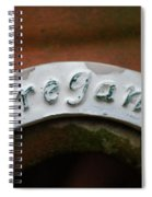 Oregano Spiral Notebook