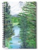Oregon Reverie Spiral Notebook