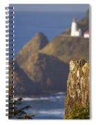 Oregon, United States Of America Heceta Spiral Notebook