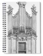 Organ, 1760 Spiral Notebook