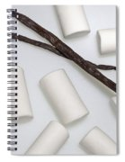 Organic Marshmallows With Vanilla Spiral Notebook