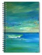 Organic Seascape Spiral Notebook