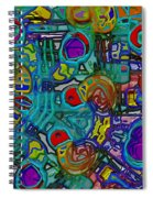 Organized Chaos Spiral Notebook
