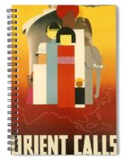 Orient Calls Spiral Notebook