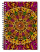 Orient Sun In Fantasy Style Spiral Notebook