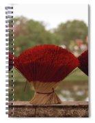 Oriental Hue Spiral Notebook