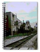 Orlando Tracks Spiral Notebook