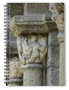 Ornament Of Cloister Of Puy En Velay. Haute Loire. Auvergne Spiral Notebook