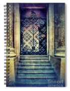 Ornate Entrance Gate Spiral Notebook