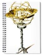 Orrery Illustration Spiral Notebook