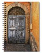Orvieto Doorway Spiral Notebook