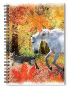 Osada's Fall Fun Spiral Notebook