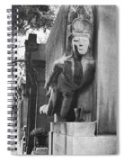 Oscar Wilde Monument Spiral Notebook