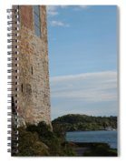Oslo Castle And Harbor Spiral Notebook