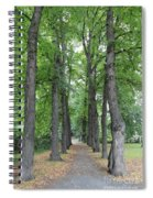 Oslo Trees Spiral Notebook