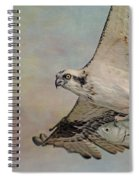 Osprey And Fish Spiral Notebook