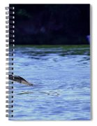 Osprey Cleaning The Lake  Spiral Notebook