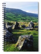 Ossians Grave, Co Antrim, Ireland Stone Spiral Notebook
